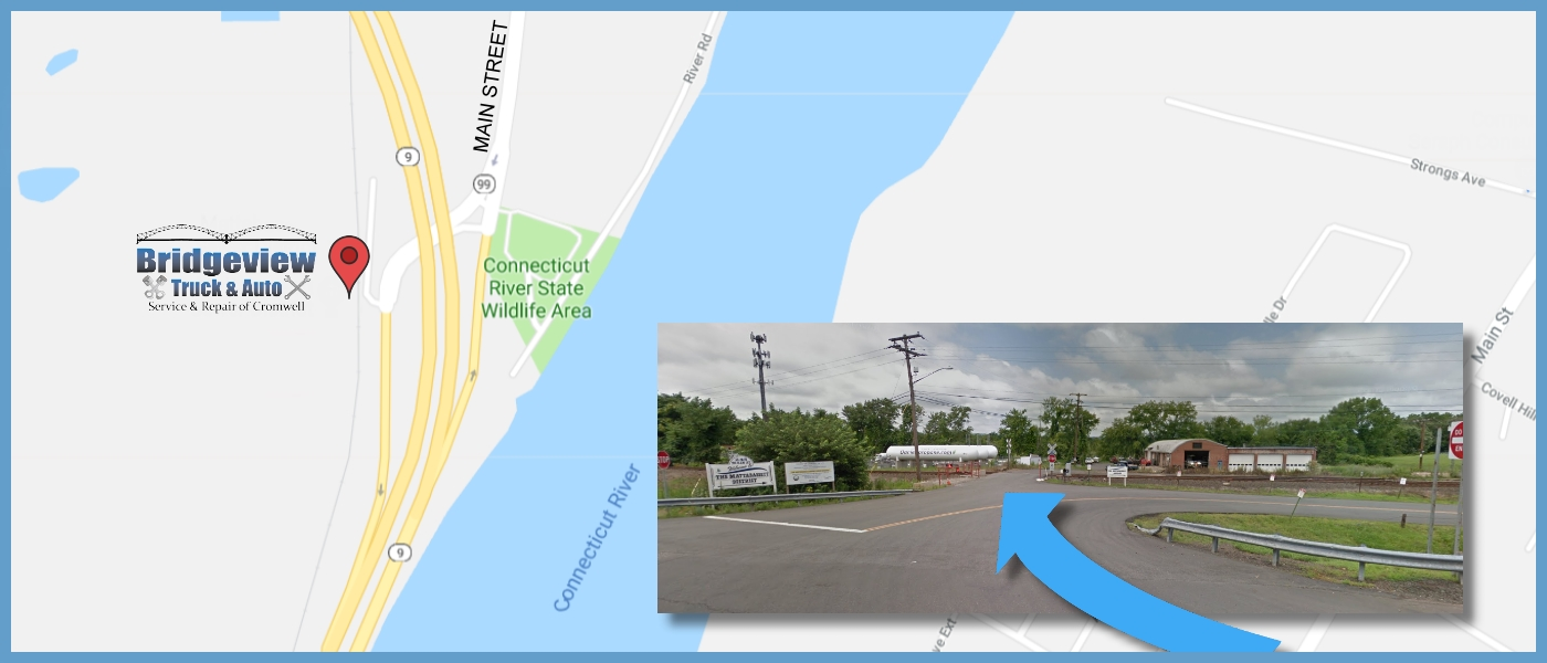 Map to Bridgeview Truck and Auto Repair - Thanks Google Maps